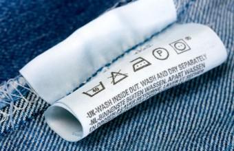 Etiqueta têxtil em poliamida