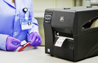 Impressão de etiquetas para amostras
